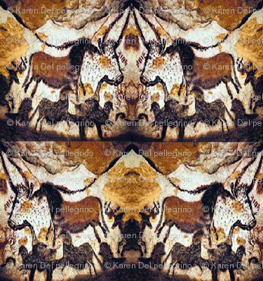 Cave Scribbles Horses