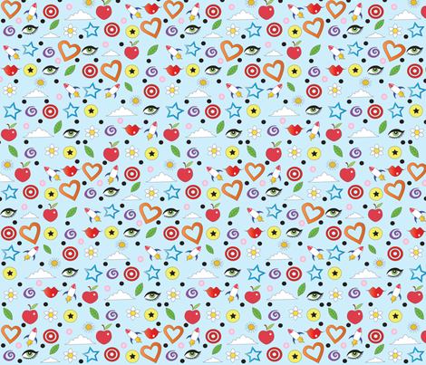 Crazy Pattern fabric by tessiegirldesigns on Spoonflower - custom fabric