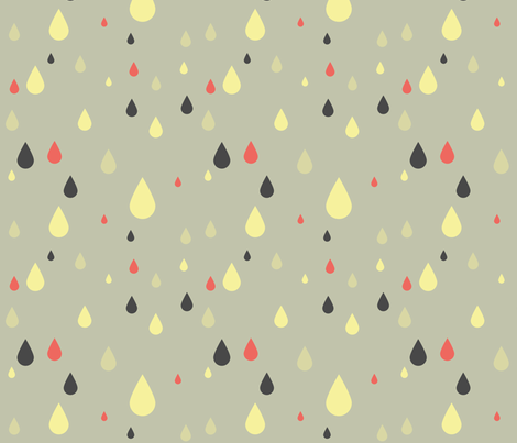 krople fabric by ravynka on Spoonflower - custom fabric