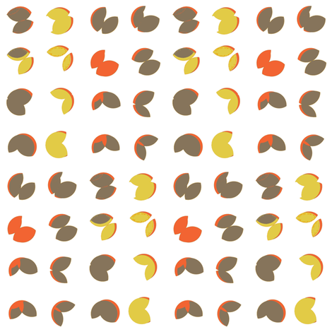 Modern Nature Petals fabric by joanne_headington on Spoonflower - custom fabric