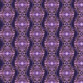 Wavy Lilac Stripes