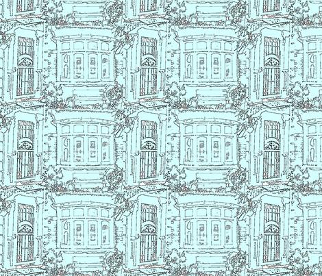 door_window_4 fabric by chrystaldare on Spoonflower - custom fabric