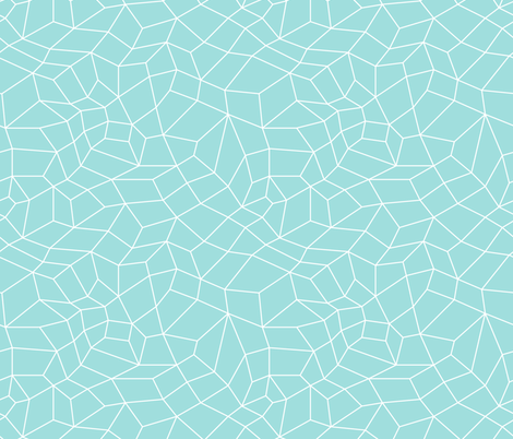 mesh blue fabric by ravynka on Spoonflower - custom fabric