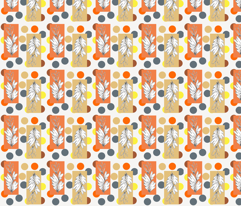 Modern Nature fabric by joanne_headington on Spoonflower - custom fabric