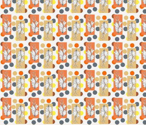Nature Sketch fabric by joanne_headington on Spoonflower - custom fabric