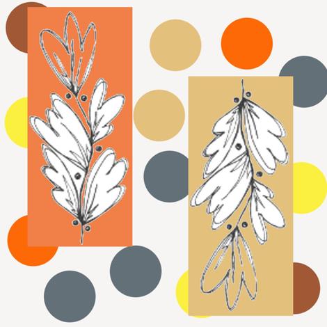 Nature Sketch fabric by joheadington on Spoonflower - custom fabric