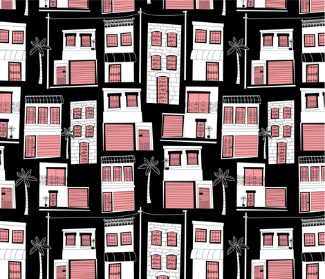 Windows & Doors fabric by dynasty_b on Spoonflower - custom fabric