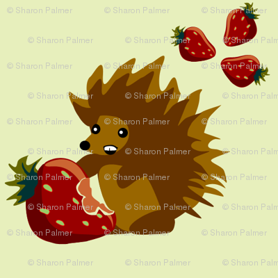 Strawberry Hedgehog