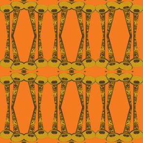 orange horns