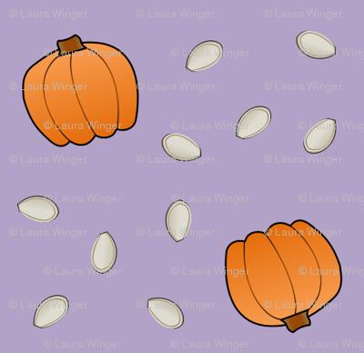 Pumpkins & Seeds - Lavender