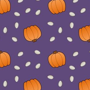 Pumpkins & Seeds - Purple
