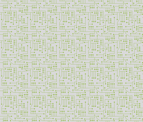 Circuit_011 fabric by lowa84 on Spoonflower - custom fabric