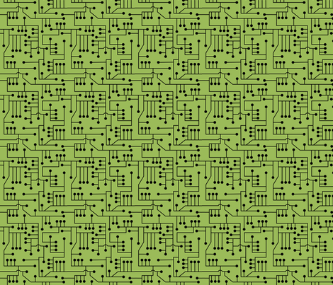 Circuit_100 fabric by lowa84 on Spoonflower - custom fabric