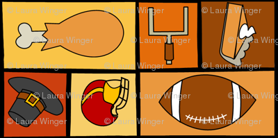 Thanksgiving & Football - Multidirectional