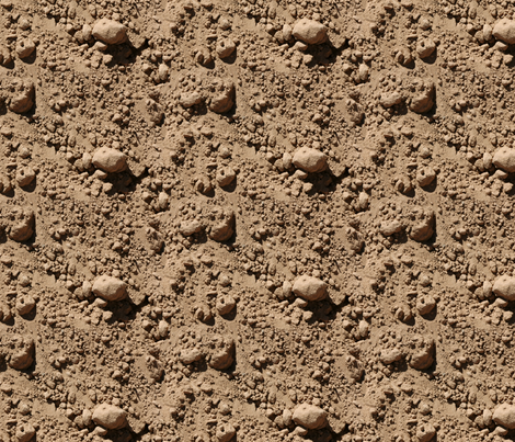 dirt fabric by hannafate on Spoonflower - custom fabric