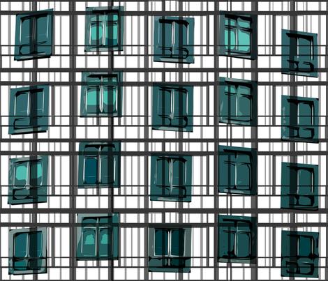 architect's plaid fabric by larissantoro on Spoonflower - custom fabric