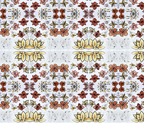 redflowers fabric by emmaleeerose on Spoonflower - custom fabric