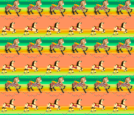 LMC_Carousel fabric by whatsit on Spoonflower - custom fabric