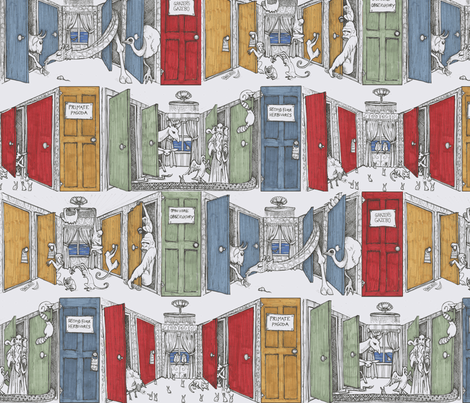 High Rise Aparkments fabric by ceanirminger on Spoonflower - custom fabric