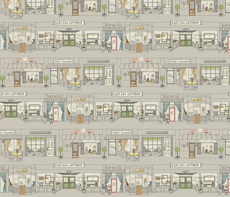 Window Shopping fabric by pattysloniger on Spoonflower - custom fabric