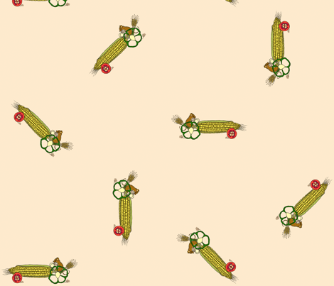 drive_your_veggies_(view swatch to see detail) fabric by victorialasher on Spoonflower - custom fabric