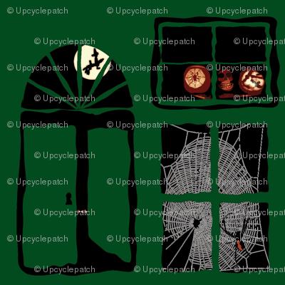 Spooky Doors and Windows - Green