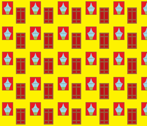 door_and_window fabric by greulich on Spoonflower - custom fabric