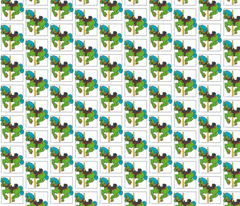 carosel fabric by jnifr on Spoonflower - custom fabric