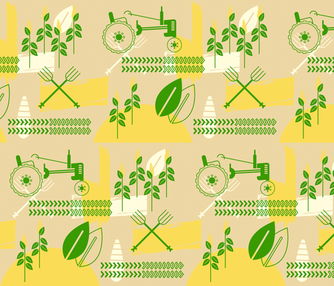 John Dear fabric by tinornament on Spoonflower - custom fabric