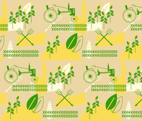 John Dear fabric by tinornament on Spoonflower - custom fabric
