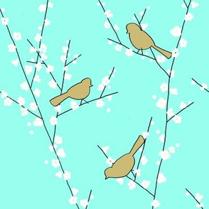 Little_Birds_Spring_Branches