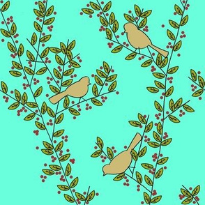 Little_Birds_Summer_Branches