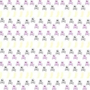 lightening and skulls