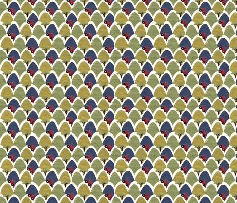 Tractors-Small fabric by red_paeony on Spoonflower - custom fabric