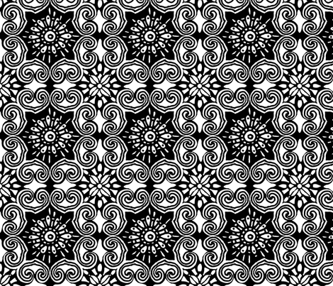 Asian_Lace fabric by luana_life on Spoonflower - custom fabric
