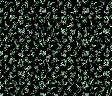 Vault Boy Wallpaper Vault Boy 39 s Got Skills Fabric