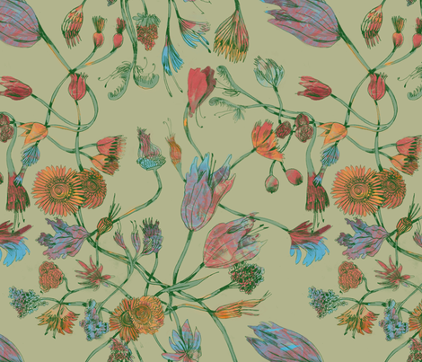 Catherine fabric by gantpants on Spoonflower - custom fabric
