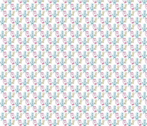 Critters fabric by siya on Spoonflower - custom fabric