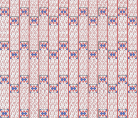 busy tiles fabric by delsie on Spoonflower - custom fabric