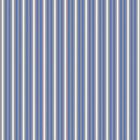 Cobalt blue stripe fabric by delsie on Spoonflower - custom fabric