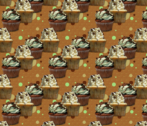 Cupcake parade fabric by hannafate on Spoonflower - custom fabric