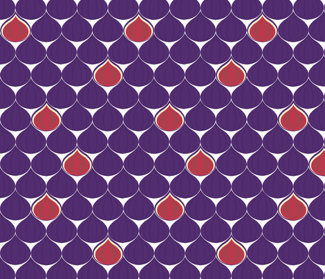 fig-a-licious fabric by amybethunephotography on Spoonflower - custom fabric