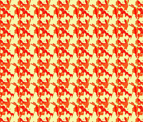 MostlyOrange fabric by snooky on Spoonflower - custom fabric
