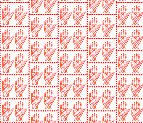 Stop! Stop! fabric by robin_rice on Spoonflower - custom fabric