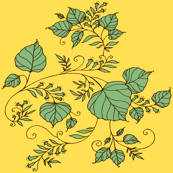 UndertheBodhiTree-yellow&frenchgreen