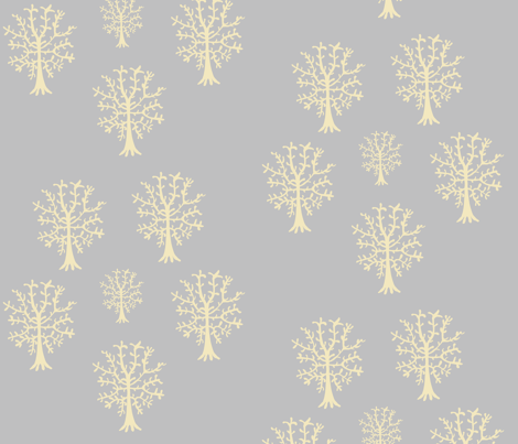 tree_repeat new colours-ed fabric by sequingirlie on Spoonflower - custom fabric