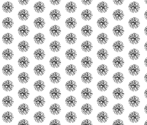 Black and White Cross Hatch fabric by joanne_headington on Spoonflower - custom fabric