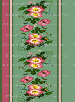 "22"" wide God is Love  Border"