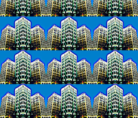 My Crazy New York fabric by robin_rice on Spoonflower - custom fabric