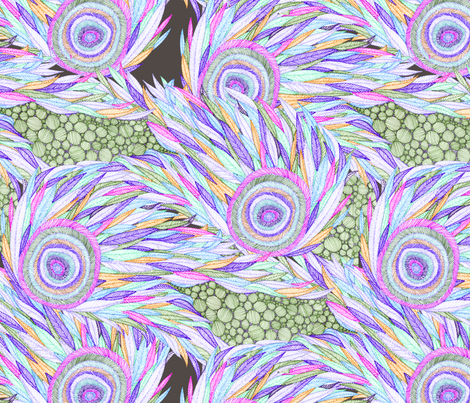 Jessie version 3 fabric by wolfie_and_the_sneak on Spoonflower - custom fabric